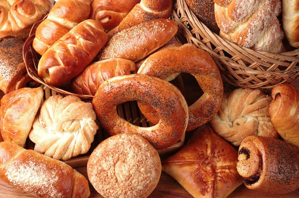 A Close-up of Bakery Products