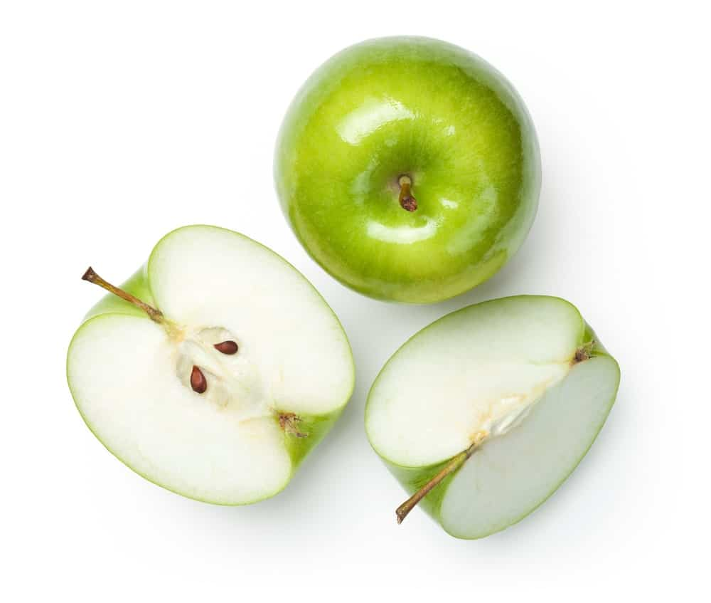 White Transparent apples