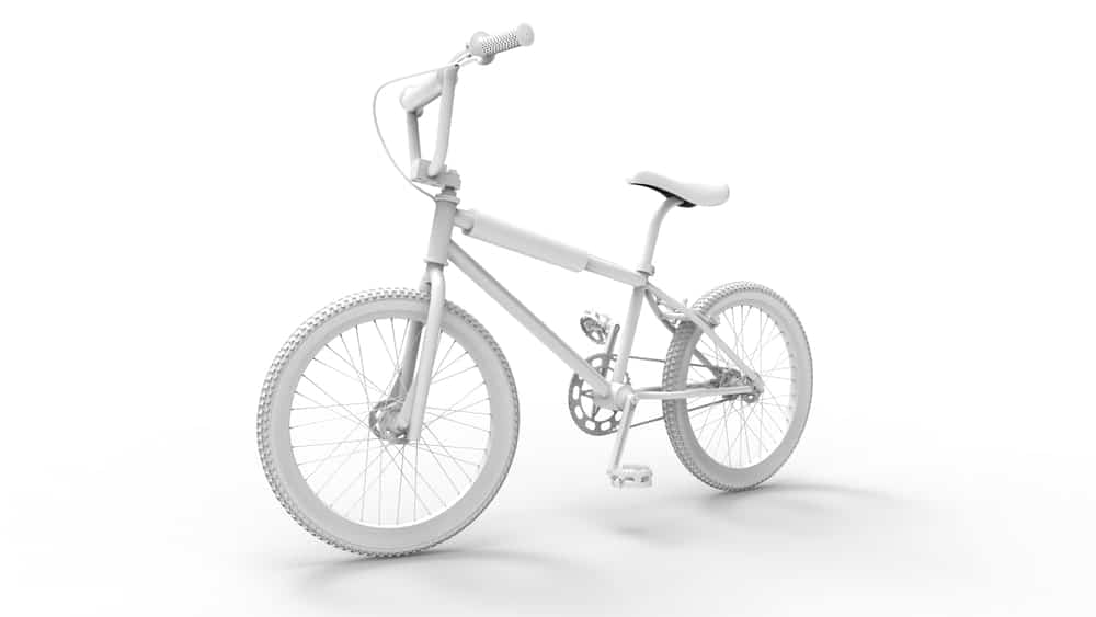 A 3D Image of BMX Bike