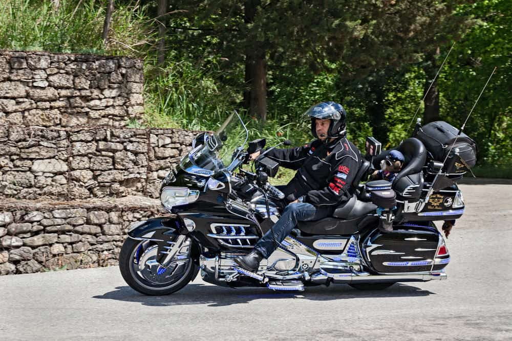 Honda Gold Wing touring motorcycle