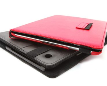 Black and Red Tablet Covers