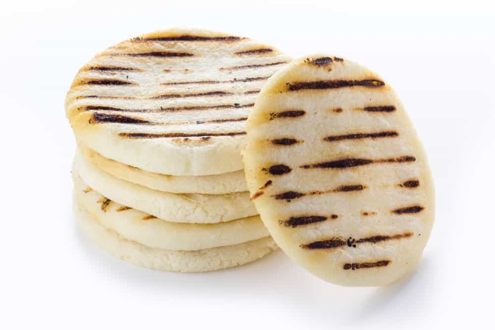 Stacked Arepa Bread