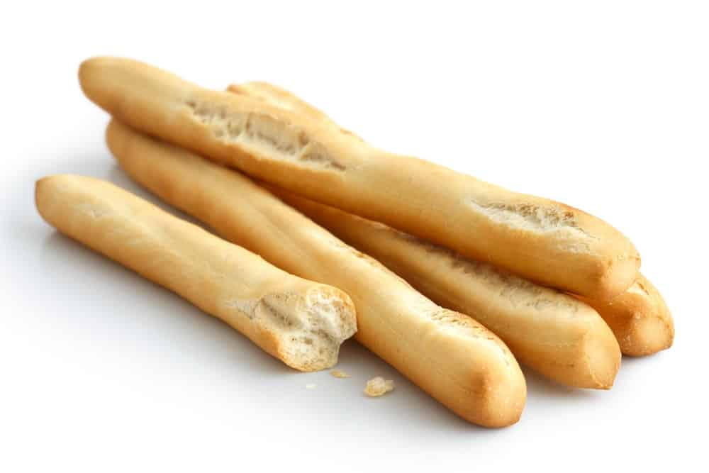 Sticks of Grissini Bread