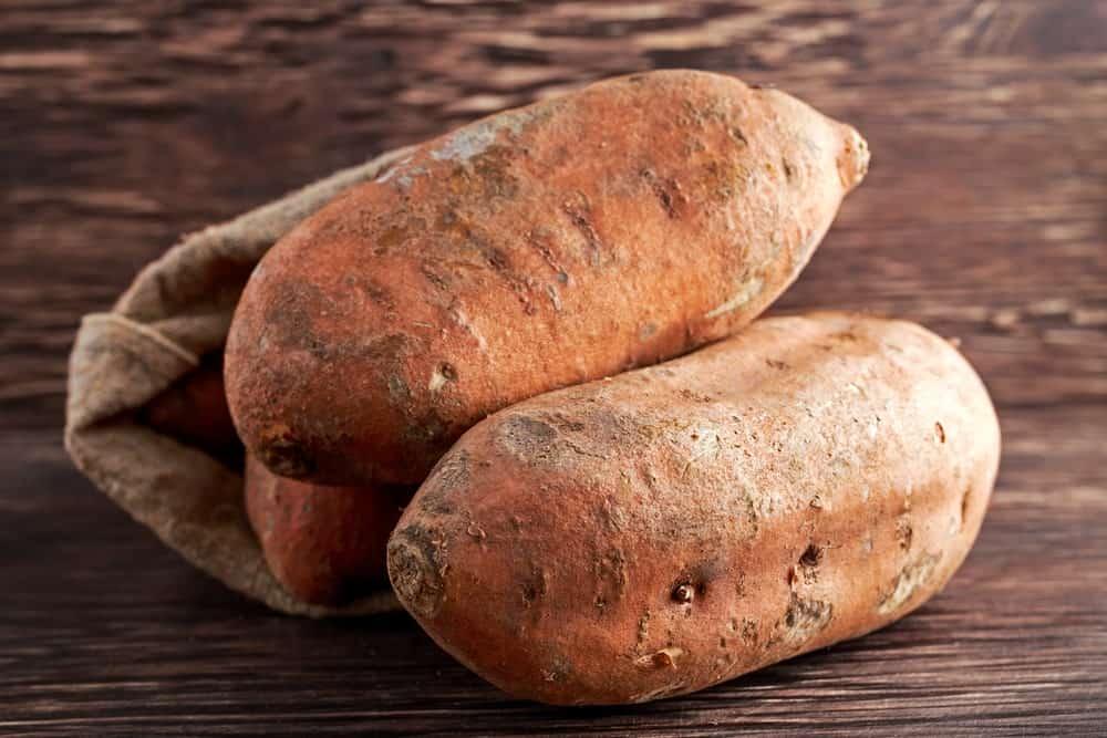 Jersey (Yellow Jersey) Sweet Potatoes