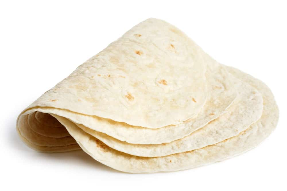 Folded Tortillas