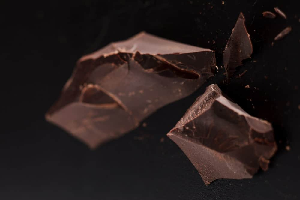 Pieces of Compound Chocolate