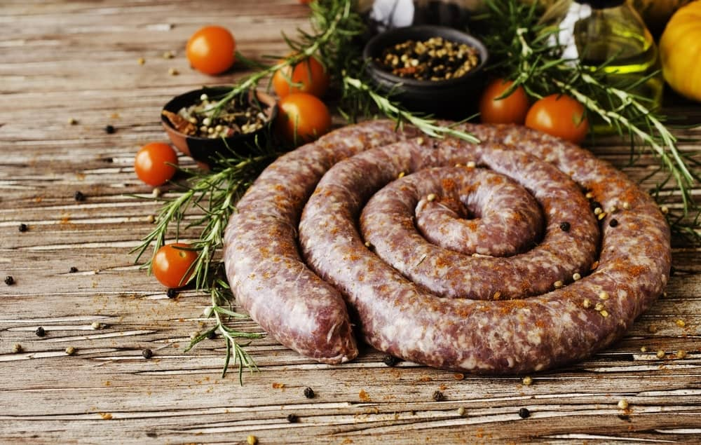 Kiobassa sausages made from the best ingredients