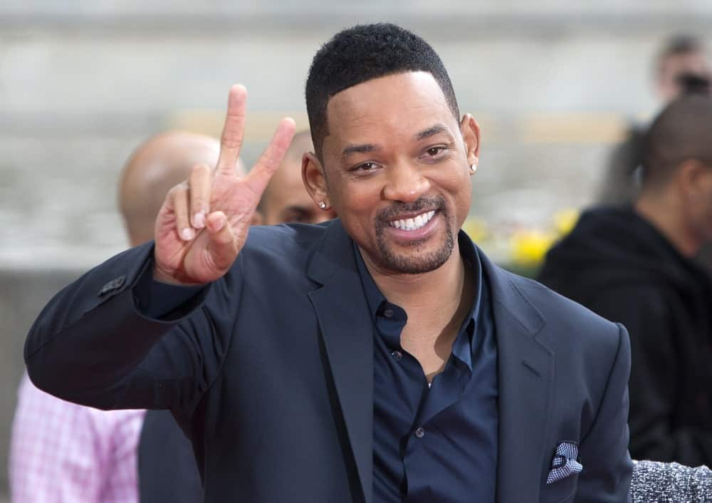 Will Smith Giving a Thumbs Up at the Camera