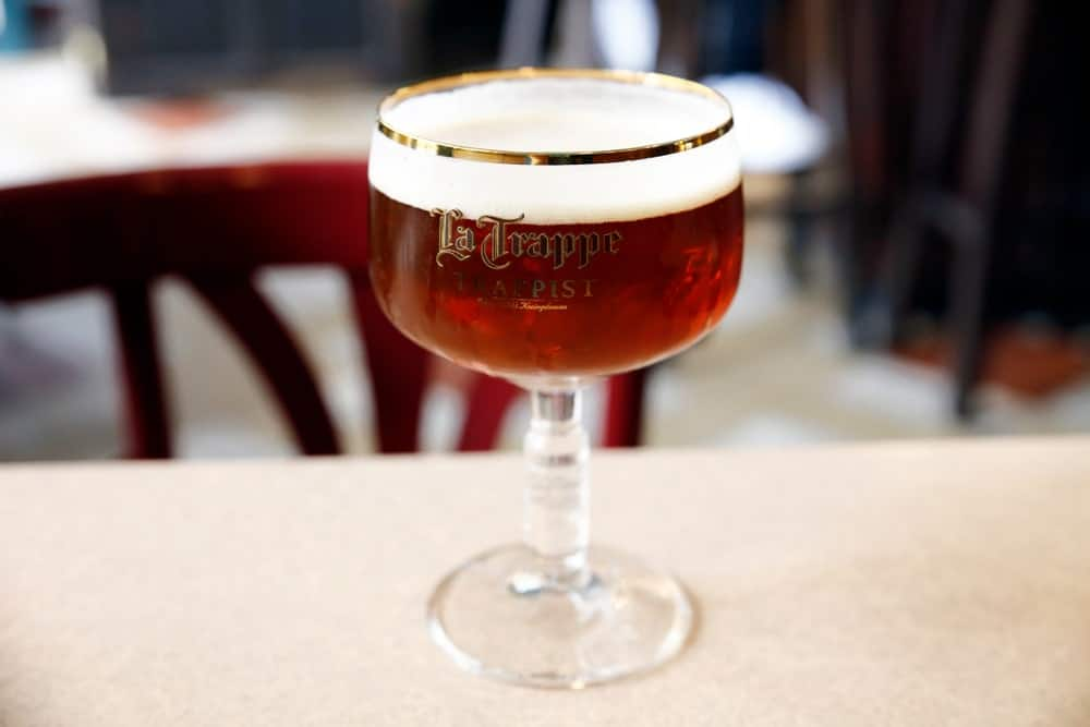 Tripel Beer in a glass