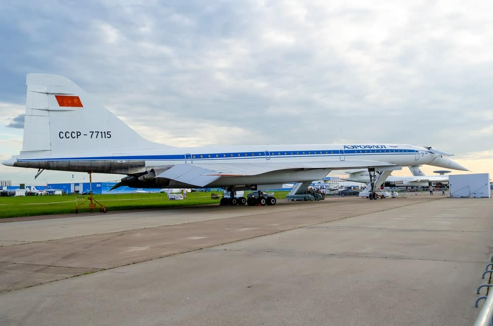 Tupolev Supersonic Plane