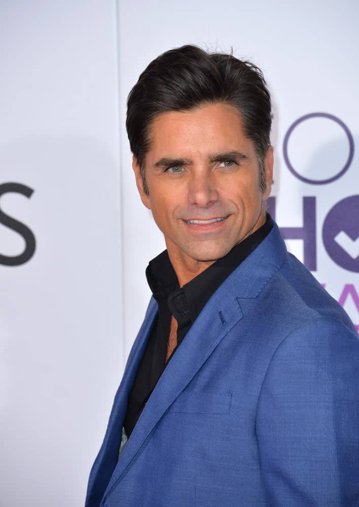 John Stamos at a movie award function