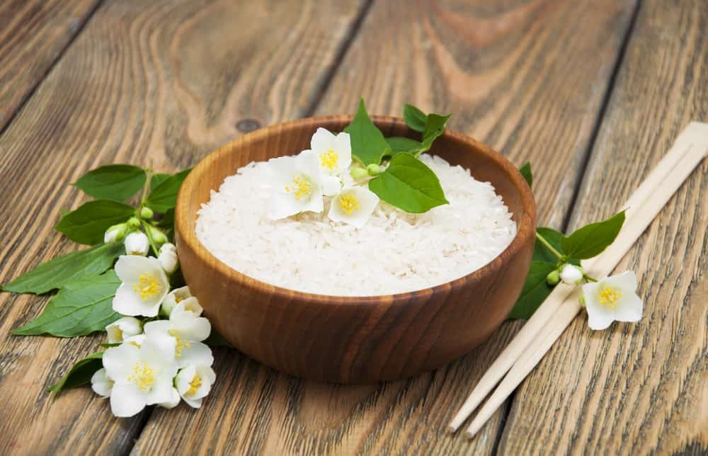 A bowl of Jasmine Rice
