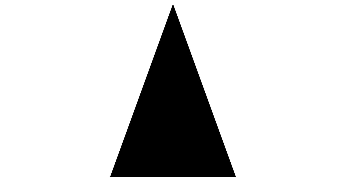 Isosceles Triangle Icon