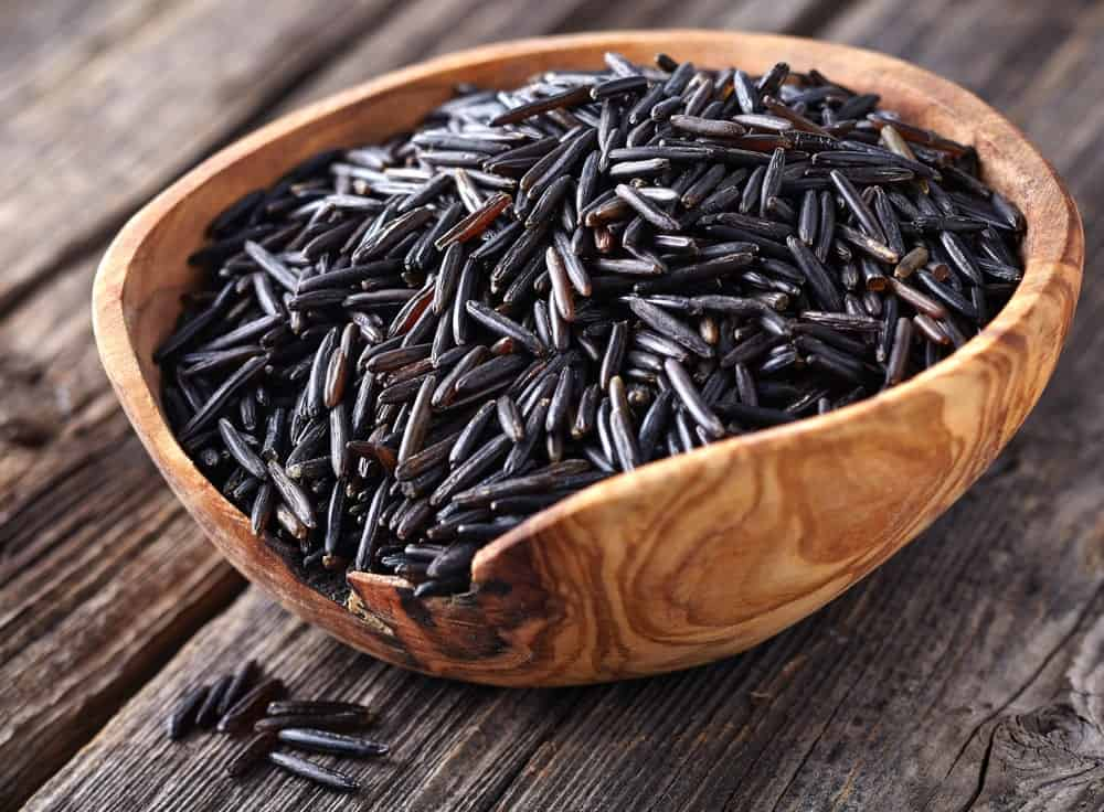 A pile of Wild Rice