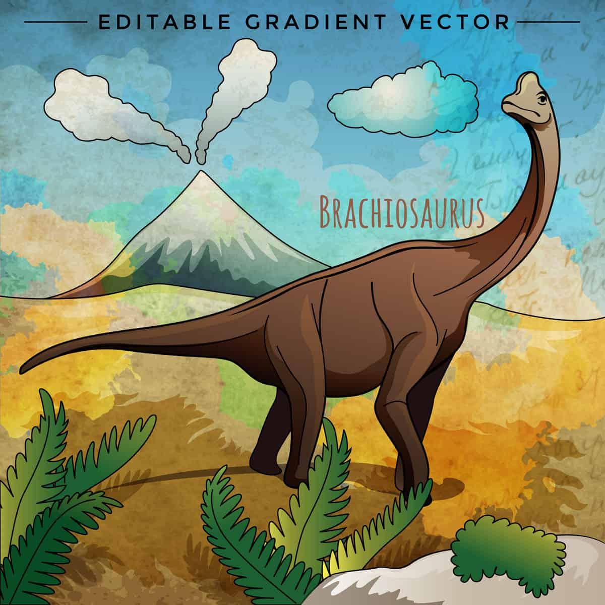 Brachiosaurs dinosaur