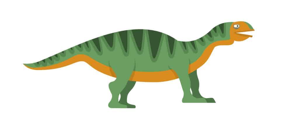Isanosaurus dinosaur