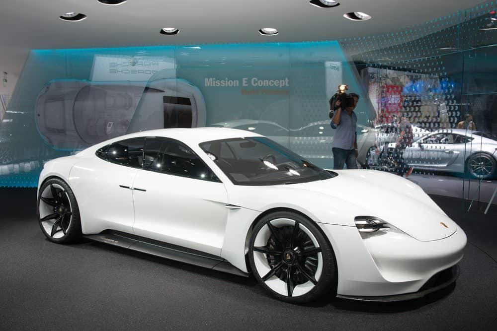 Porsche Mission E electric car