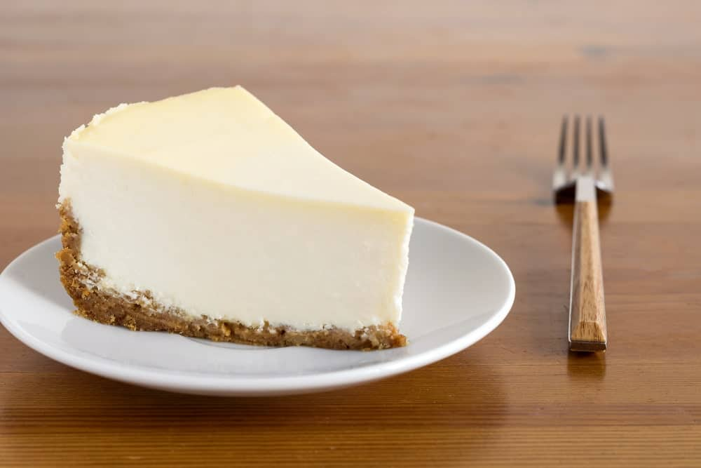 A Slice of New York Cheese Cake