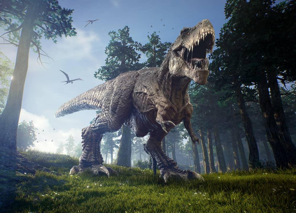 Amazing picture of Tyrannosaurus Rex