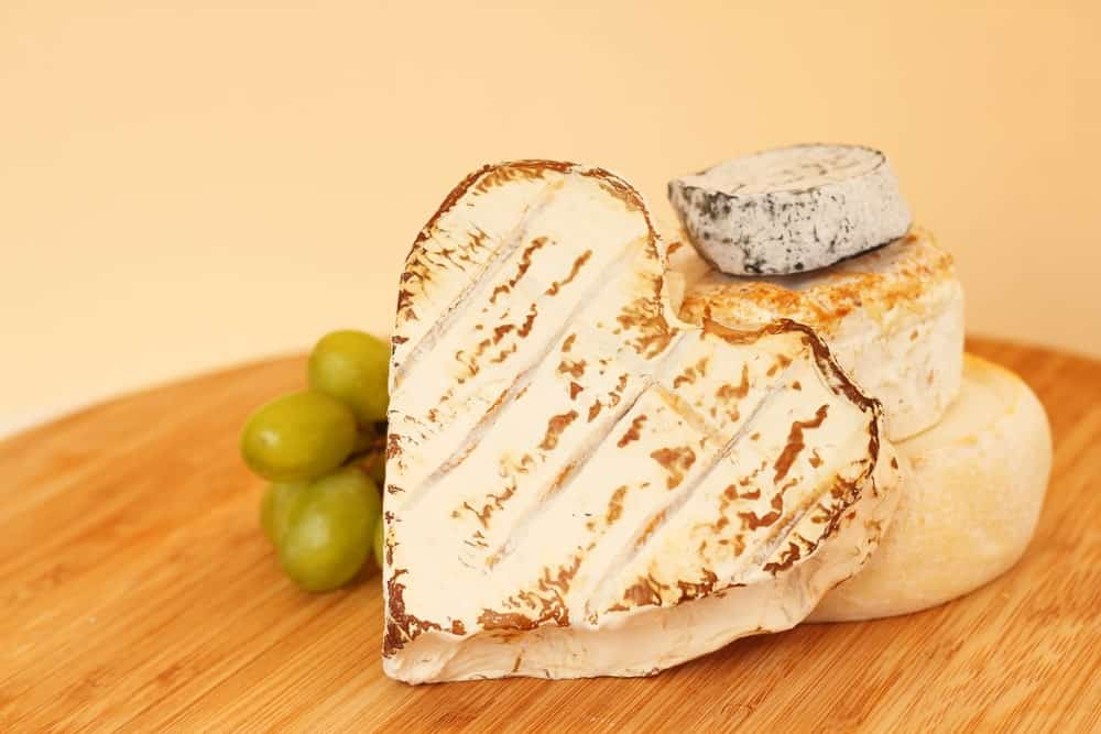 Heart Shaped Coeur de Chevre Cheese
