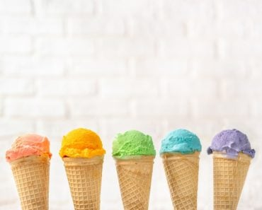 different ice cream
