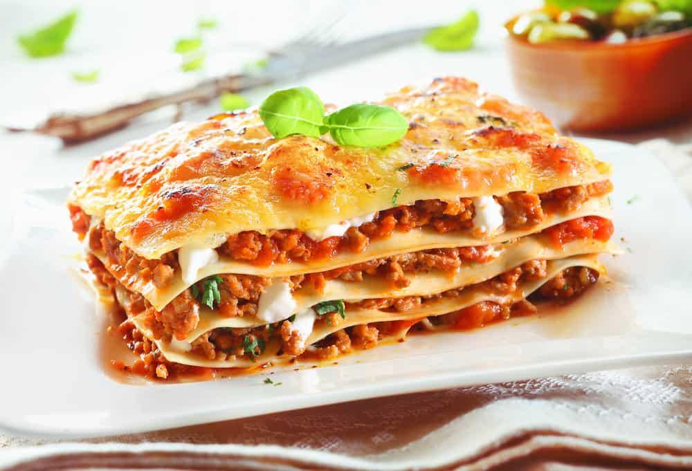 Lasagna pasta dish