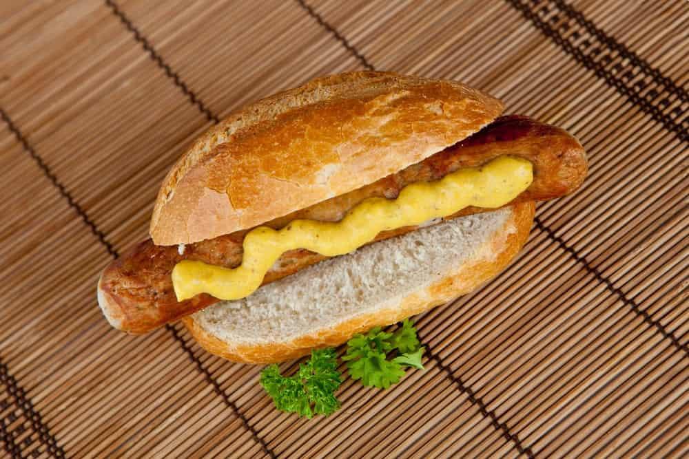 German yellow mustard