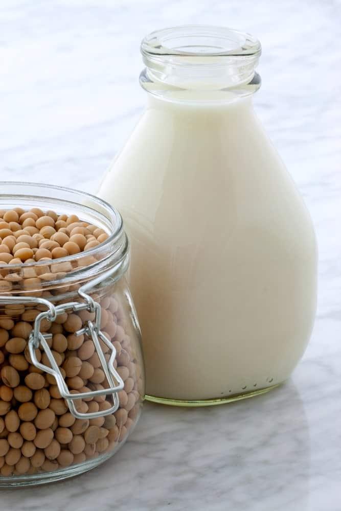 A Jug of Fresh Soy Milk