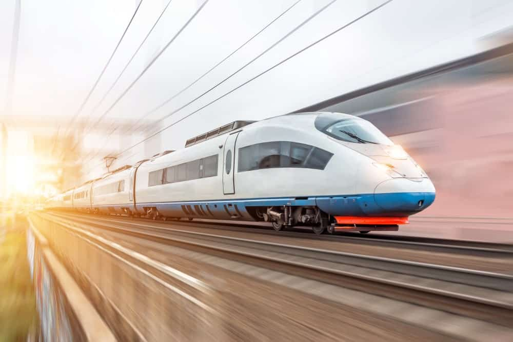 High-speed train