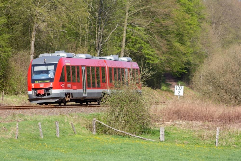 Railcar train