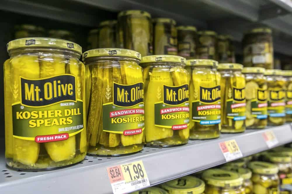 Mt. Olive Kosher Dill Spears