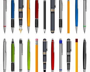 Different types of pens