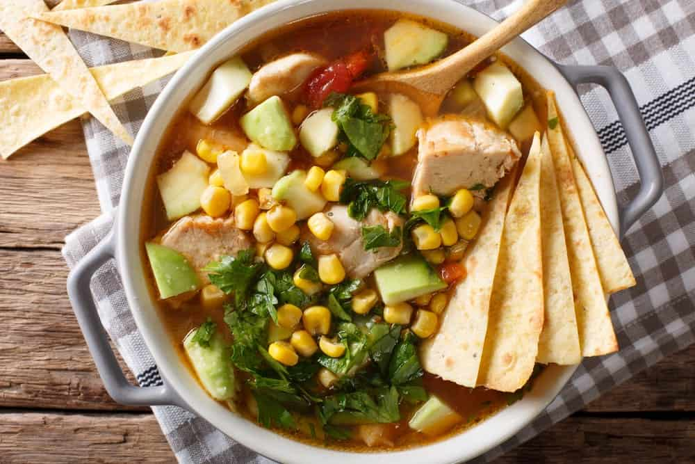 A Bowl of Tortilla Soup