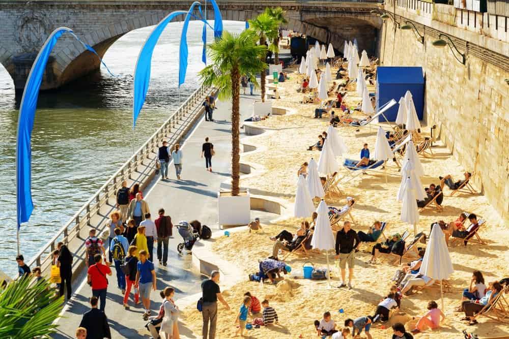 An Urban Beach