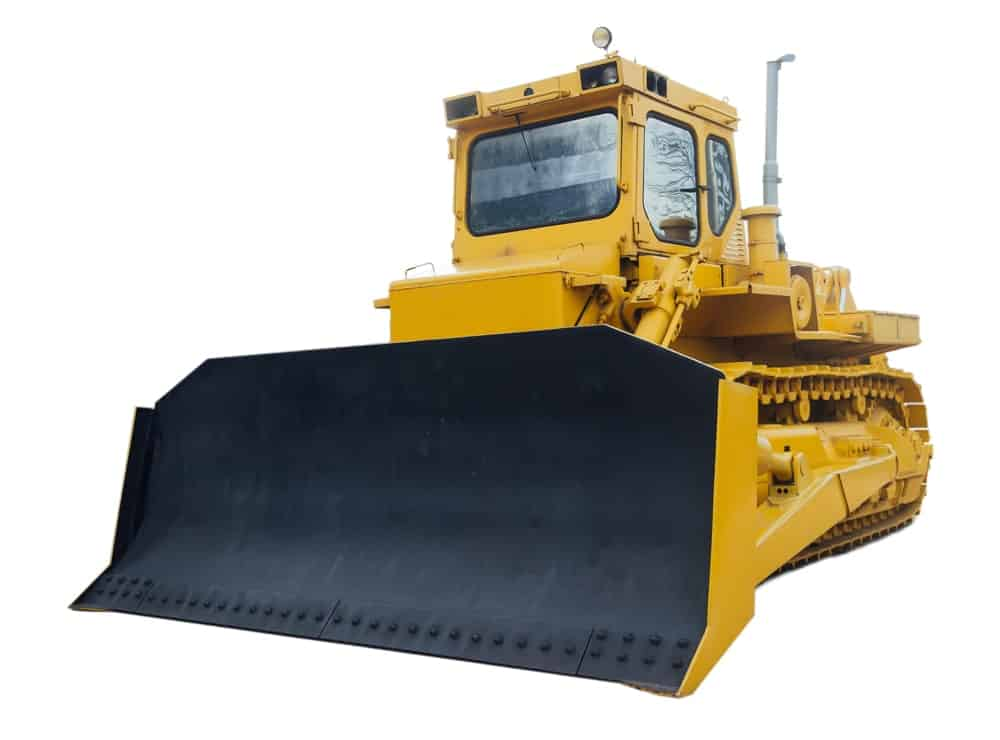 A Crawler Dozer at a construction site