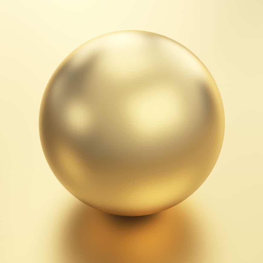 Golden Kasumiga pearl