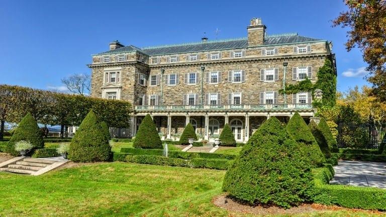 John D. Rockefeller Estate or Kykuit in Sleepy Hollow