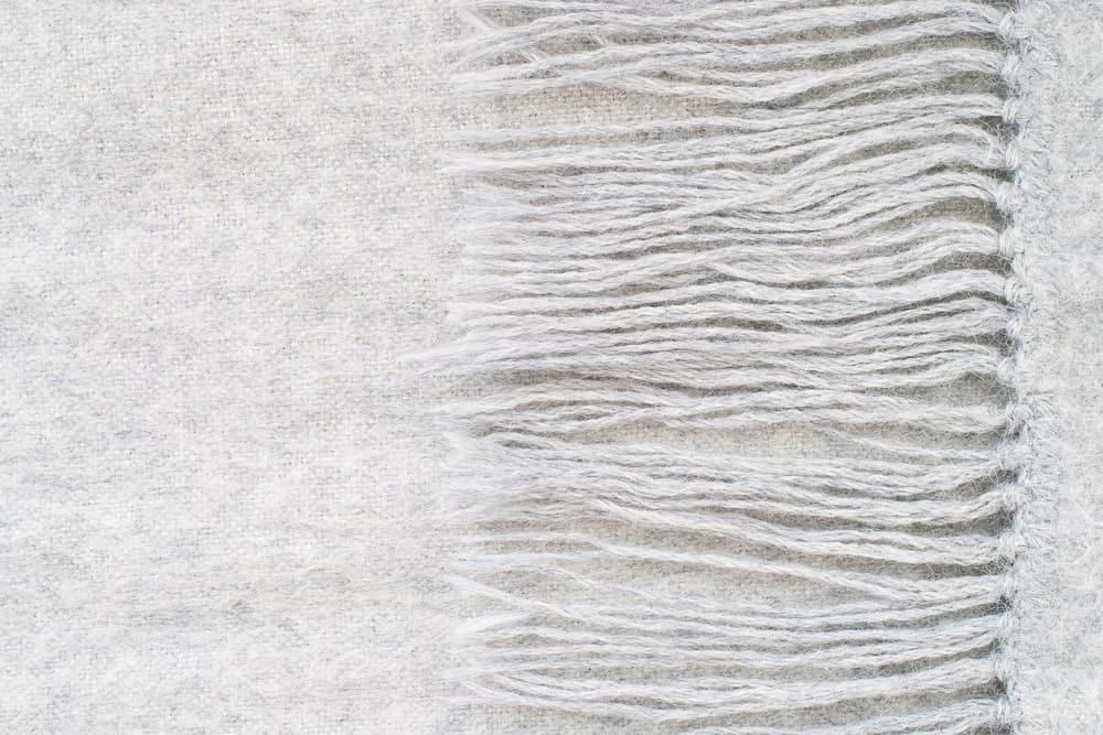 Gray Alpaca wool