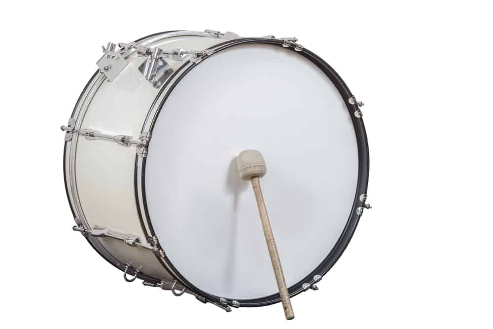 Bass drum; one of the many types of drums