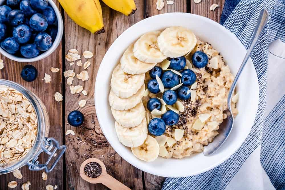 A power-packed bowl of breakfast oatmeal