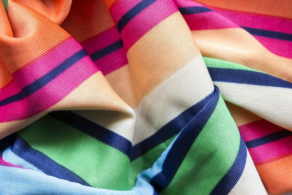 Colorful viscose scarf