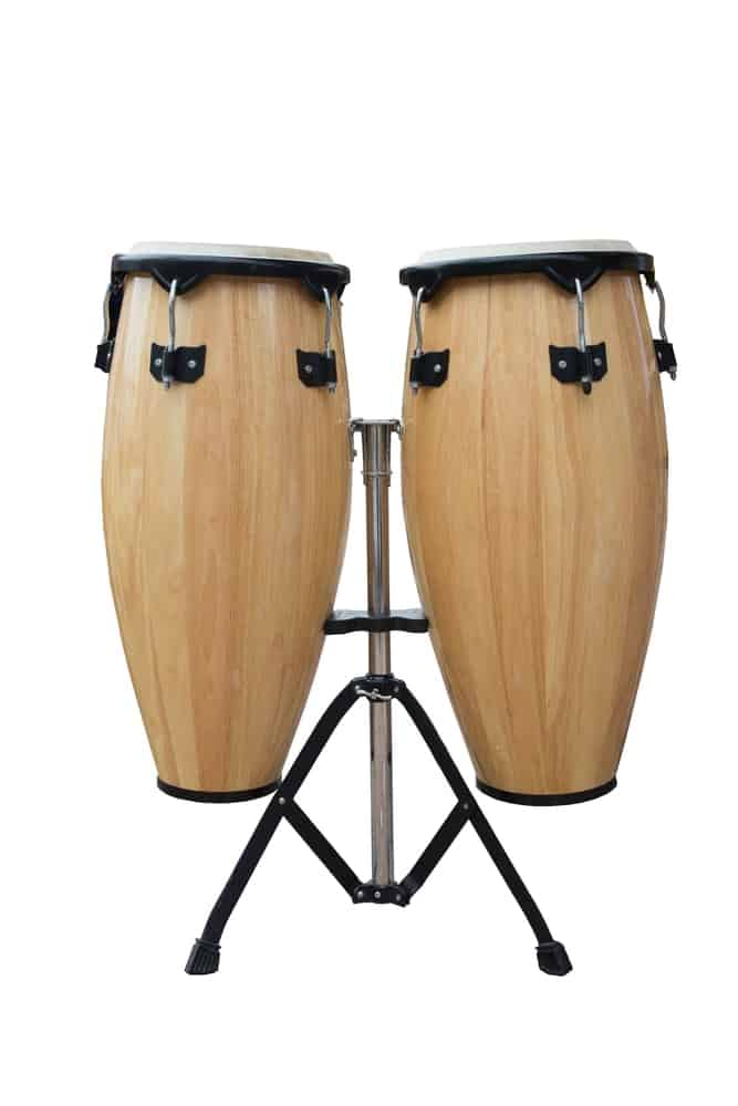 Conga drum; one of the many types of drums