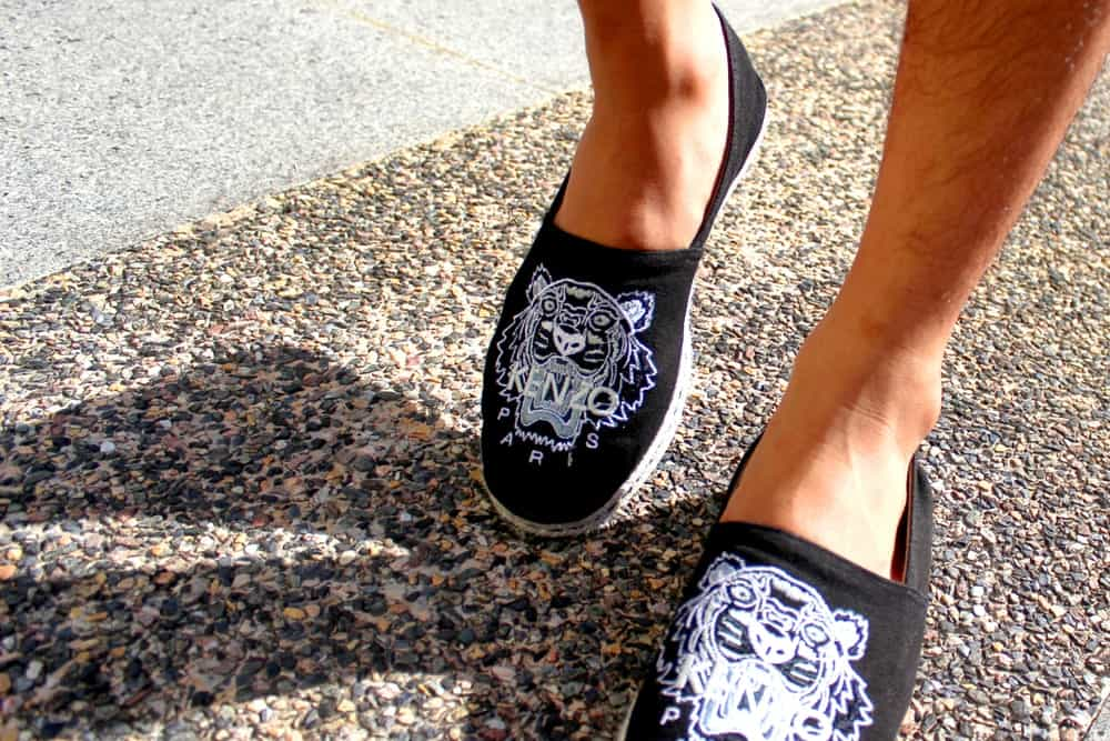 Black Espadrille Loafers