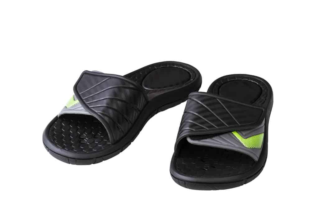 Black Slides for Men