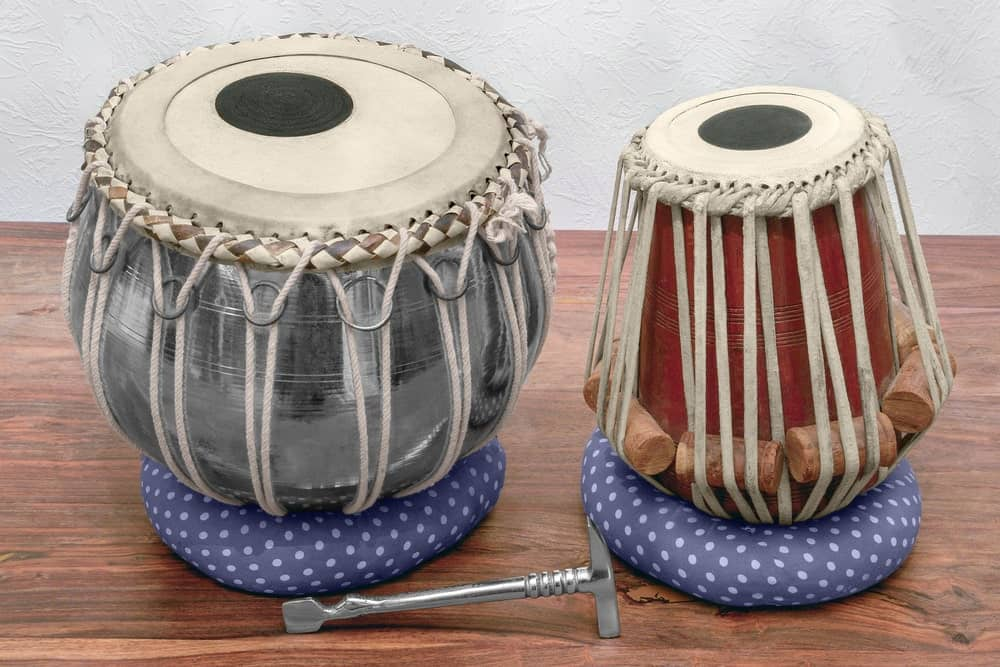 Tabla drum; one of the many types of drums