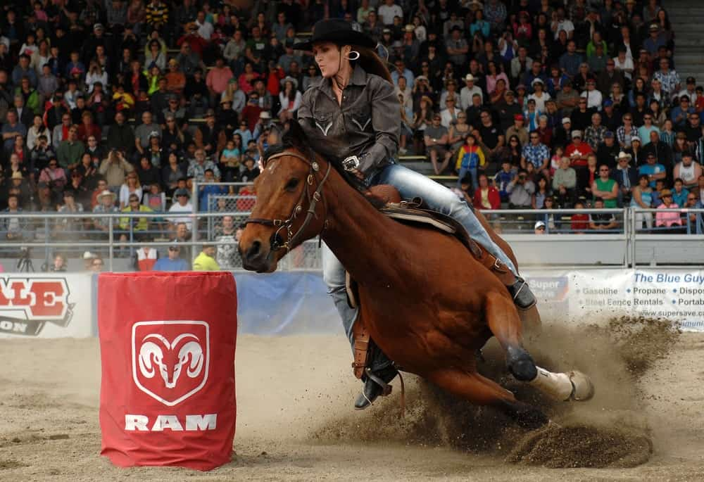 Barrel racing events