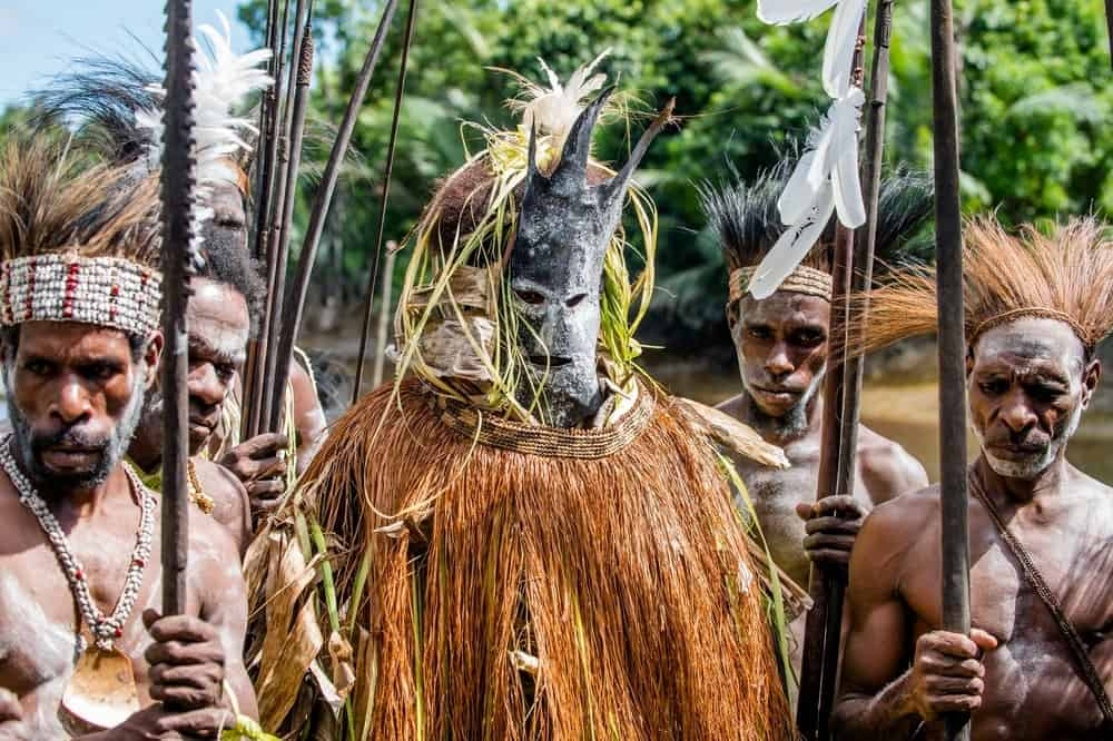 A cannibal tribe