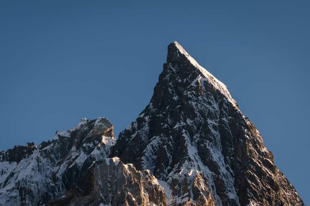 K2 peak in Pakistan