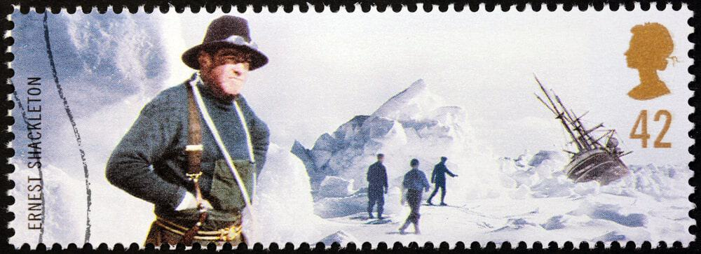 Sir Ernest Shackleton stamp