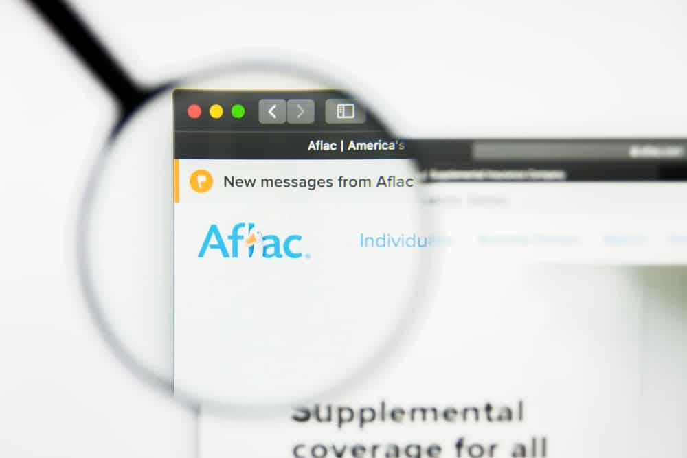 Aflac Website Homepage